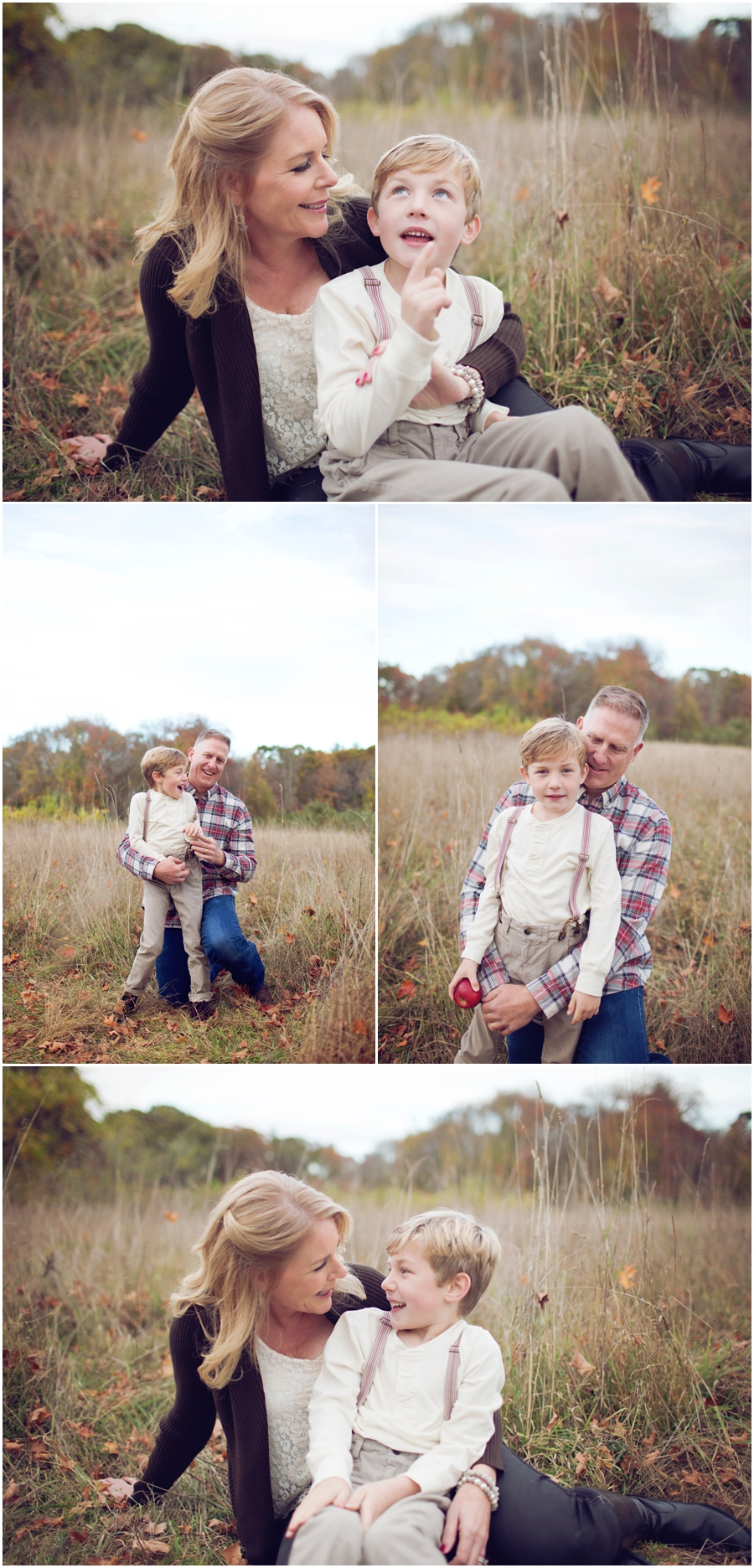 fall family portraits boston
