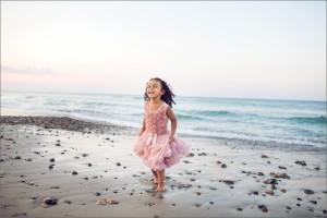 Joy Child On Beach