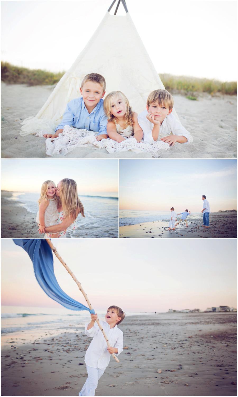 Boston Family Beach Portraits