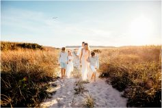 Family Beach Portraits Cape Cod MA